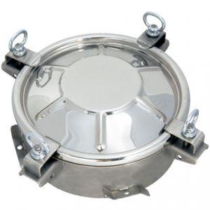 Búvónyílás cementkádra kerek 150 - 600 mm kifelé nyíló (D12 C)