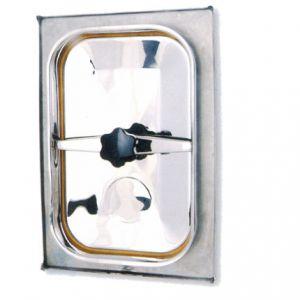 Búvónyílás cementkádra négyszögletes 500 x 310 mm befelé nyíló (B16)