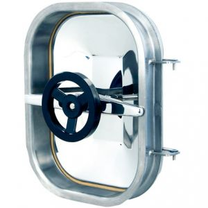 Búvónyílás cementkádra négyszögletes 420 x 310 mm befelé nyíló (B17)
