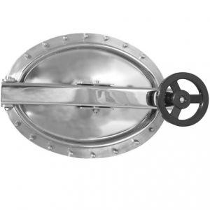 Búvónyílás fahordóra ovális 440x310 mm kifelenyíló (A20)