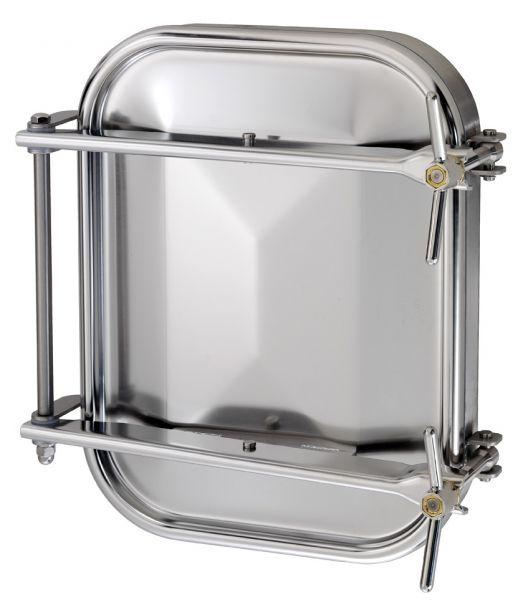 Búvónyílás alsó négyszögletes 432x555 mm kifelenyíló (1500)