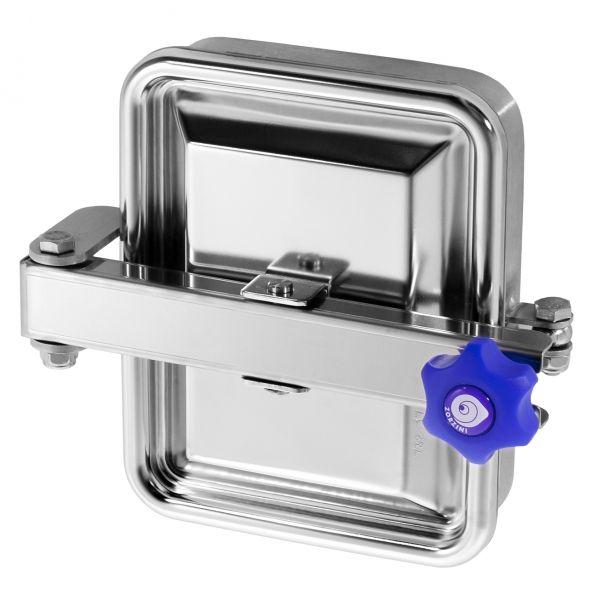 Búvónyílás alsó négyszögletes 235x185 mm kifelenyíló (285)