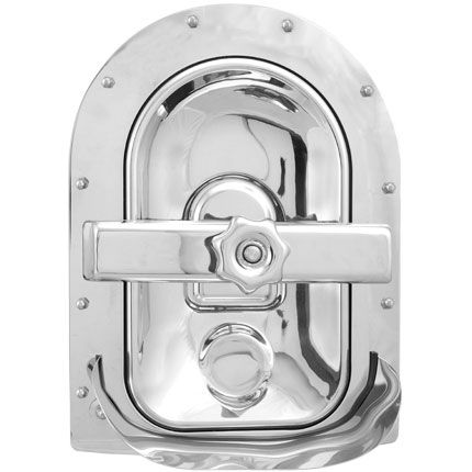 Búvónyílás fahordóra fél ovál 430x260 mm befelenyíló (A19GRA)