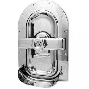 Búvónyílás fahordóra félovál 420x210 mm befelenyíló (A19PIC)