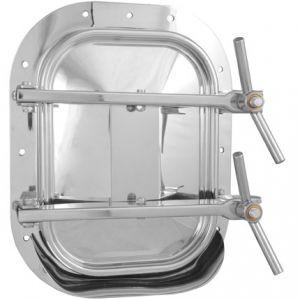 Búvónyílás fahordóra négyszögletes 420x310 mm kifelenyíló (B22)