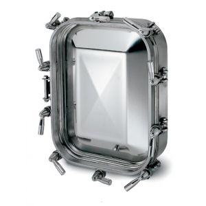 Búvónyílás alsó négyszögletes 410 x 530 mm kifelé nyíló (6014)