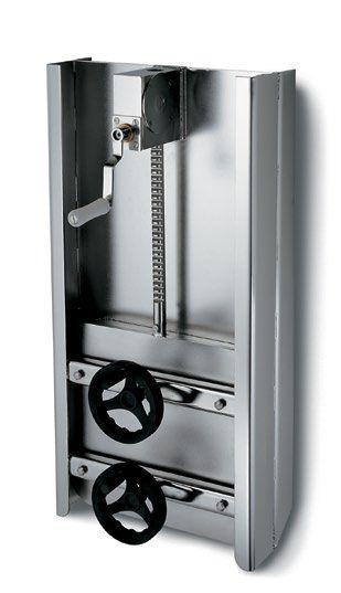 Búvónyílás négyszögletes guillotine ajtóval 350 x 400 mm (6015)