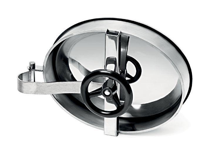 Befelé nyíló ovális búvónyílás 315 x 412 mm (6006D1)