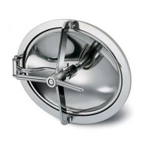 Befelé nyíló ovális búvónyílás 340 x 440 mm (6008)