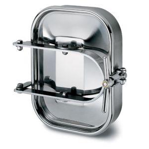 Kifelé nyíló négyszögletes búvónyílás 310 x 420 mm (6010)