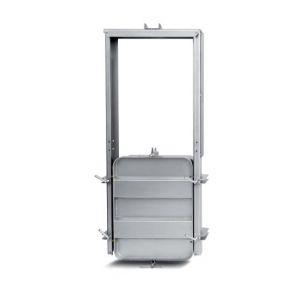 Négyszögletes búvónyílás guillotine ajtóval 610 x 810 mm (6015 G)