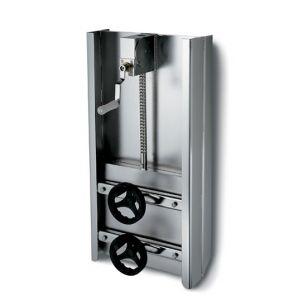 Négyszögletes búvónyílás guillotine ajtóval 350 x 400 mm (6015)