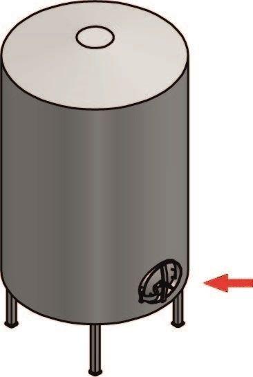 Kifelé nyíló kerek búvónyílás Ø 420 mm (6016)
