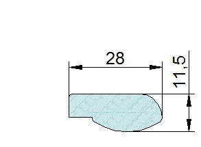 Búvónyílás felső kerek 404 mm kifelenyíló (400/AZ)