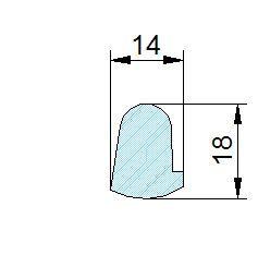 Búvónyílás felső kerek 202 mm kifelenyíló (235)