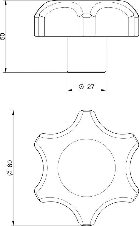 Búvónyílás alsó ovális 488x364 mm befelenyíló (170/L)