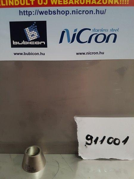 Szűkítő Konc. DN 025/015 AISI 304L matt