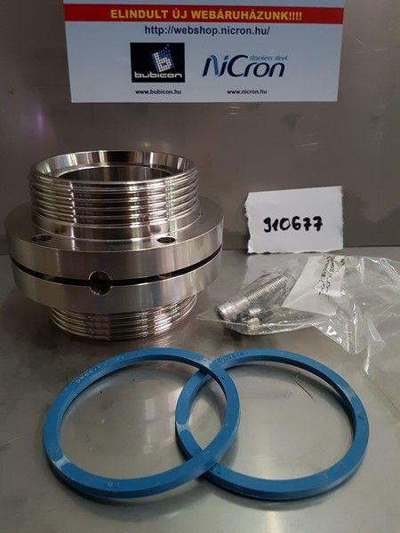 Pillangószelep M/M DN 065 AISI 304L LKB-2 EPDM