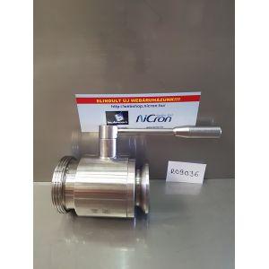 Golyóscsap élelmiszeripari M/MORS AISI304 (DN065)