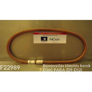 Búvónyílás tömítés kerek D360 PARA (D9-D12)
