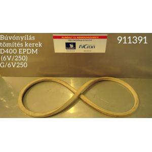 Búvónyílás tömítés kerek D400 EPDM  (6V/250) G/6V250