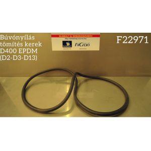 Búvónyílás tömítés kerek D400 EPDM (D2-D3-D13)