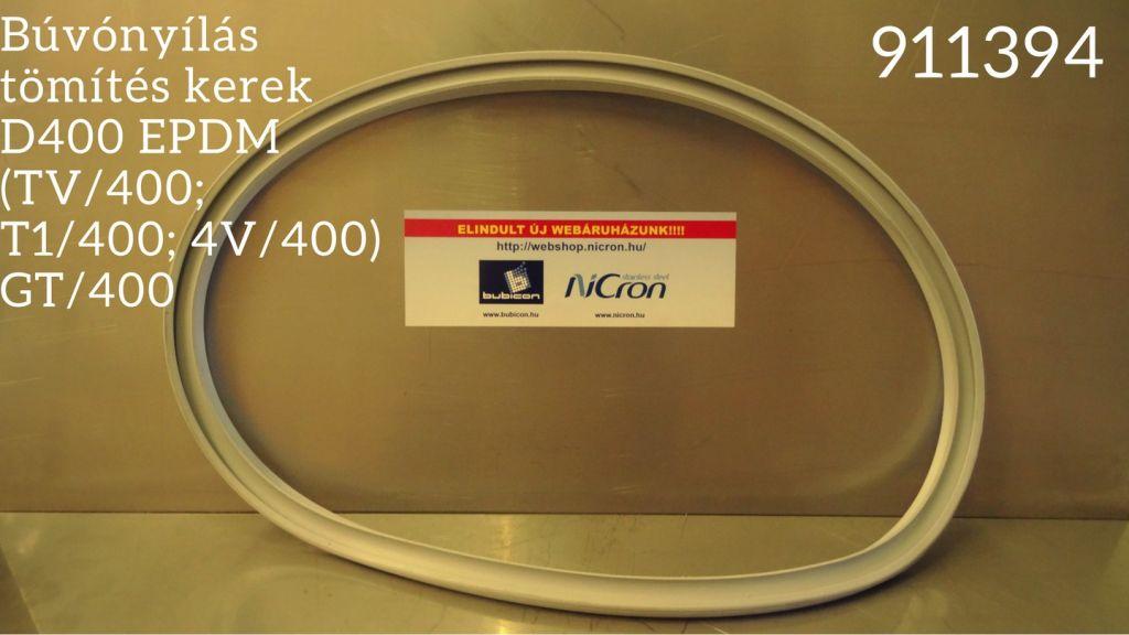 Búvónyílás tömítés kerek D400 EPDM (TV/400; T1/400; 4V/400) GT/400