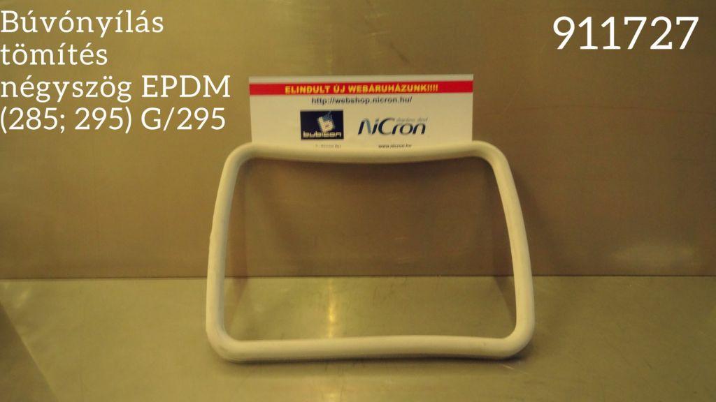 Búvónyílás tömítés négyszög EPDM (285; 295) G/295