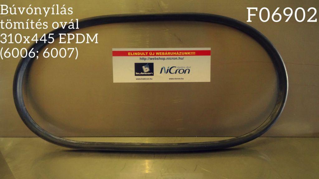 Búvónyílás tömítés ovál 310x445 EPDM (6006; 6007)