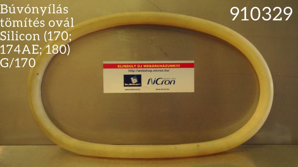 Búvónyílás tömítés ovál Silicon (170; 174AE; 180) G/170