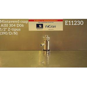 """Mintavevő csap  AISI 304 D06 1/2"""" Z-típus (390/D/N)"""