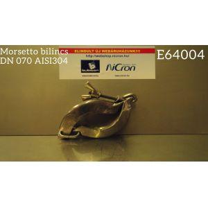 Morsetto bilincs DN 070 AISI304