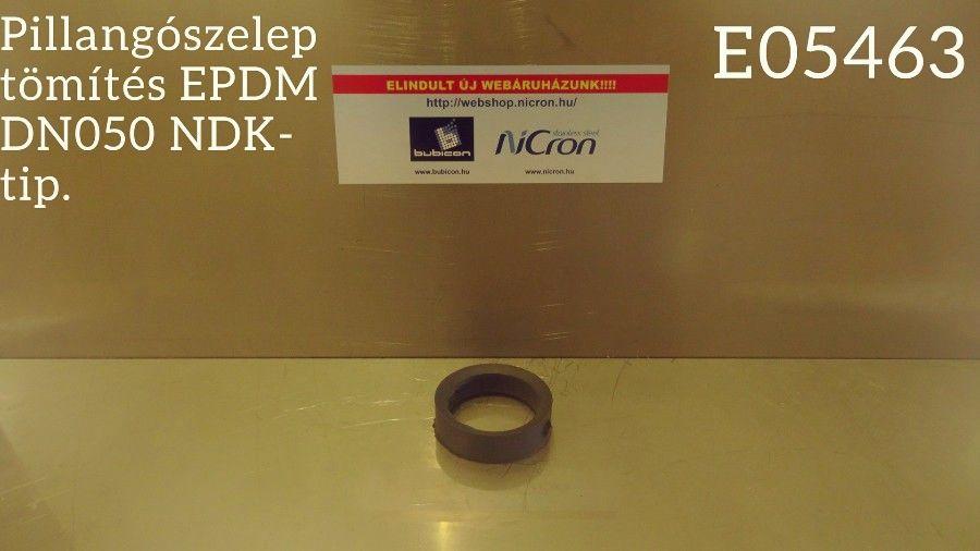 Pillangószelep tömítés EPDM DN050 NDK-tip.
