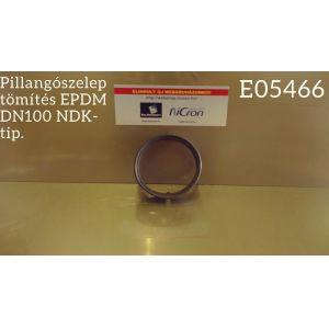 Pillangószelep tömítés EPDM DN100 NDK-tip.