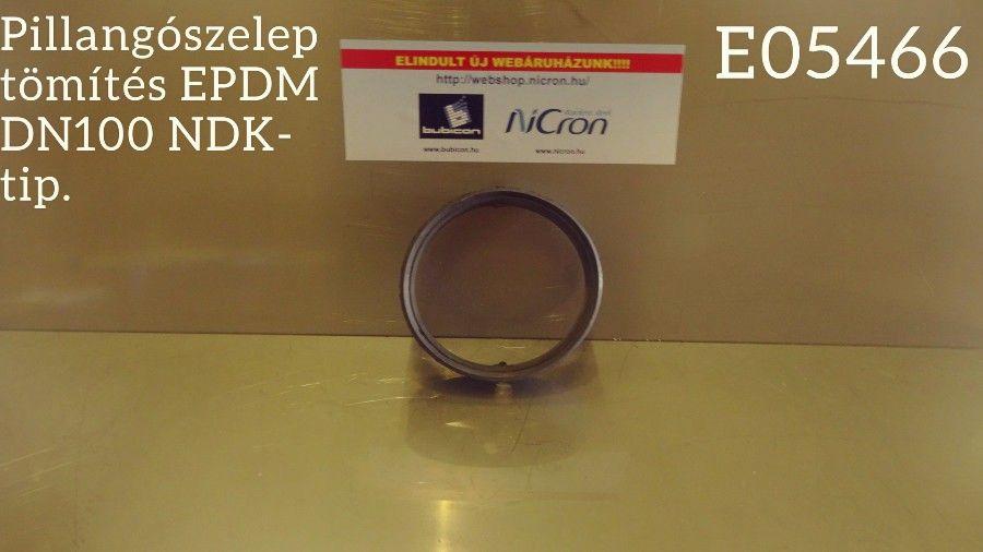 Pillangószelep tömítés EPDM DN100 NDK-típus