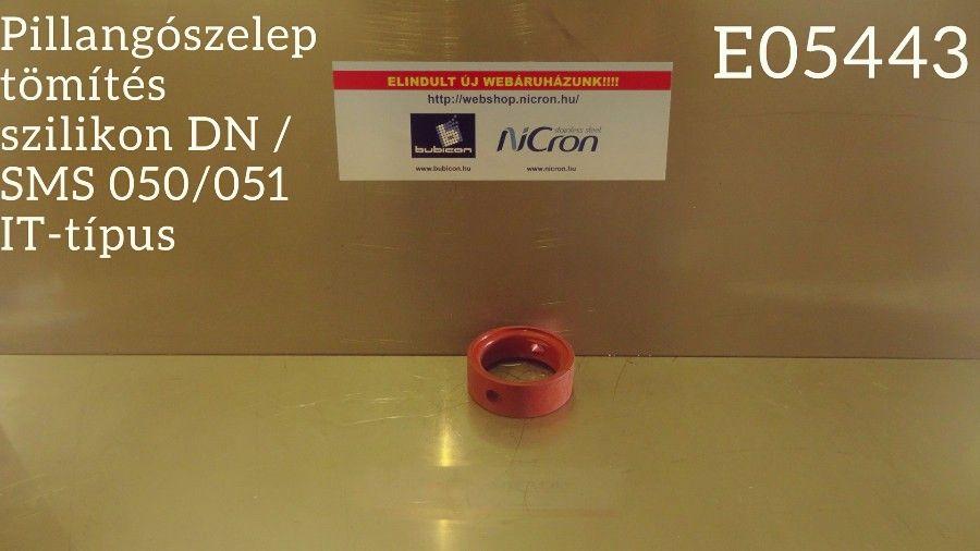 Pillangószelep tömítés szilikon DN / SMS 050/051 IT-típus