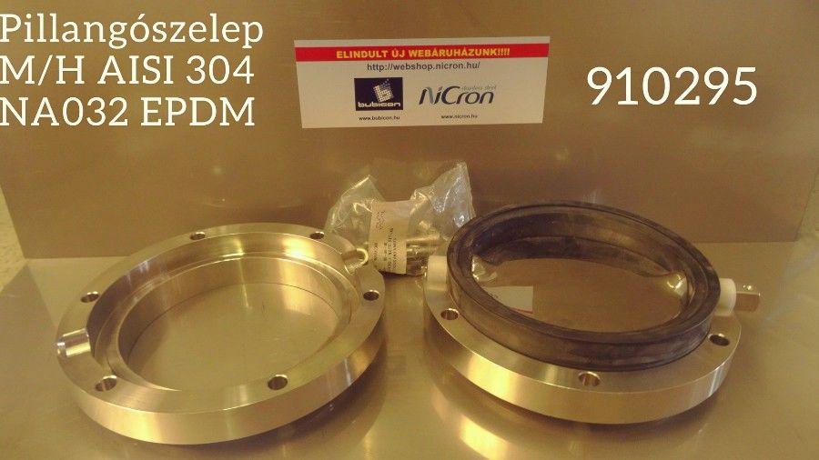 Pillangószelep H/H DN 150 AISI 304L LKB-2 EPDM