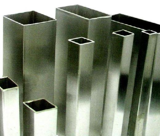 Zártszelvény négyzet alakú, rozsdamentes