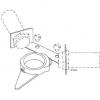 Induktív érzékelő tartó szett, LKLA és LKLA-T , DN 25-100 / ISO 25-101,6, rozsdamentes, élelmiszeripari, prémium