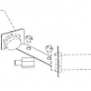 Induktív érzékelő tartó szett, LKLA és LKLA-T, DN 100-150 / ISO 101,6, rozsdamentes, élelmiszeripari, prémium