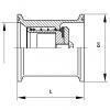 Visszacsapó szelep, rövid beépítésű, clamp / clamp, DIN, rozsdamentes, élelmiszeripari, standard