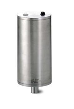 Pneumatikus munkahenger + kuplung, levegő / levegő, rozsdamentes, élelmiszeripari, standard