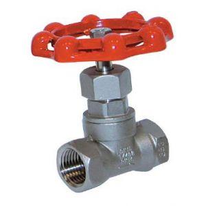 Áramlásszabályzó szelep, belső gázmenet / belső gázmenet, rozsdamentes, ipari