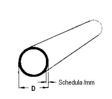 Acélcső, vezetéki ANSI B 36.19, rozsdamentes