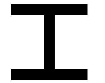 H-profil (HEB/IPB) egyenlőszárú, rozsdamentes