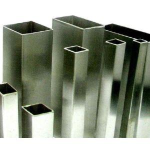 Zártszelvény téglalap alakú, rozsdamentes