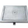 Búvónyílás cementkádra négyszögletes 450x450 mm kifelenyíló (B24)