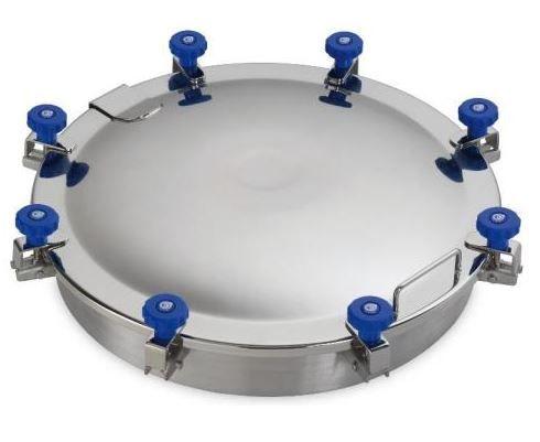 Búvónyílás felső kerek 620 mm kifelenyíló (8V/600)