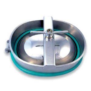 Búvónyílás alsó ovális 480x370 mm nagynyomású befelenyíló (A12)