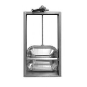 Búvónyílás guillotine nyitású 310x420 mm (G4E-310x420)